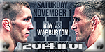 Cage Warriors 73 - Ray vs Warburton - Nov 1