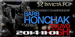 Invicta FC 9 - Honchak vs. Hashi - Nov 1
