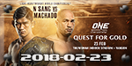 ONE Championship 68 - Quest for Gold - Feb 23