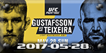 UFC Fight Night 109 - Gustafsson vs. Teixeira - May 28